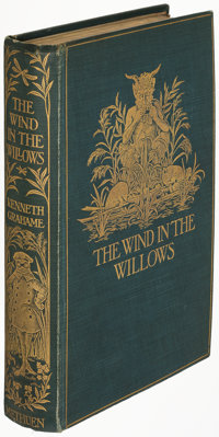 Kenneth Grahame. The Wind in the Willows. London: Methuen and Co., [1908]. First edition