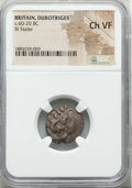 Ancients:Ancient Lots  , Ancients: ANCIENT LOTS. Celtic. Britain. Durotriges. Ca. 60-20 BC.Lot of two (2) BI staters. NGC Choice VF.... (Total: 2 coins)