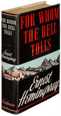 Books:Literature 1900-up, Ernest Hemingway. For Whom the Bell Tolls. New York: CharlesScribner's Sons, 1940. First edition, first issue; pr...