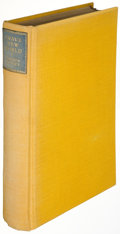 Books:Science Fiction & Fantasy, Aldous Huxley. Brave New World. London: Chatto & Windus,1932. First edition, limited to 324 copies, of which this i...