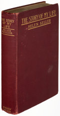 Books:Biography & Memoir, Helen Keller. The Story of My Life. New York: Doubleday, Page & Company, [1903]. First edition, presentation copy,...