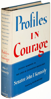 John F. Kennedy. Profiles in Courage. New York: Harper & Brothers, Publishers, [1956]. Early re