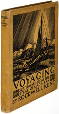 Books:Children's Books, Rockwell Kent. Voyaging Southward from the Strait ofMagellan. New York: G. P. Putnam's Sons, 1924. First edition,...