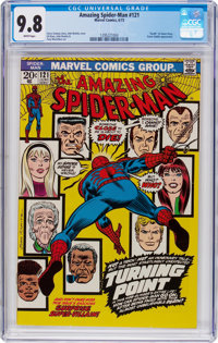 The Amazing Spider-Man #121 (Marvel, 1973) CGC NM/MT 9.8 White pages