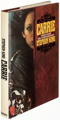 Stephen King. Carrie. Garden City: Doubleday & Company, 1974. First edition of King's first nov