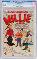 Silver Age (1956-1969):Humor, Millie the Model #78 (Atlas/Marvel, 1957) CGC VF+ 8.5 Off-white to white pages....