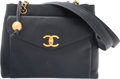 "Luxury Accessories:Bags, Chanel Navy Blue Caviar Leather Classic Flap Tote Bag.Condition: 4. 12"" Width x 9"" Height x 4"" Depth. ..."