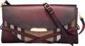Luxury Accessories:Bags, Burberry Red Gradient Calfskin Leather and Nova Check Canv...