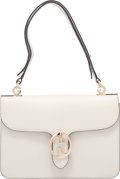 "Luxury Accessories:Bags, Gucci Off-White Leather Shoulder Flap Bag. Condition: 3. 10""Width x 7.5"" Height x 1.5"" Depth. Property of a Lady. ..."