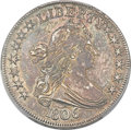 Early Half Dollars, 1806 50C Pointed 6, Stem, O-122, T-25, High R.6 -- Cleaning -- PCGSGenuine. XF Details....