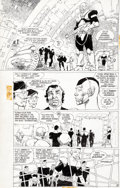 Original Comic Art:Panel Pages, Frank Miller Ronin #1 Story Page 18 Original Art (DC,1983)....