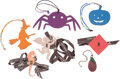 Luxury Accessories:Accessories, Hermes Set of Four; Multicolor Epsom & Clemence Spider, Wi...