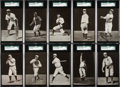 Baseball Cards:Sets, 1907 PC765-1 Dietsche Post Cards Detroit Tigers Near Set (13/16). ...