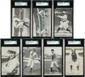 Baseball Cards:Sets, Scarce 1907 Wolverine News SGC-Graded Partial Set (7/20). ...