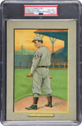 Baseball Cards:Singles (Pre-1930), 1910-11 T3 Turkey Red Bobby Wallace (Ad Back) #124 PSA VG-EX+4.5....