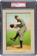 Baseball Cards:Singles (Pre-1930), 1911 T3 Turkey Red Cabinets Slim Sallee # PSA VG-EX 4....