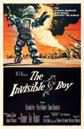 """Movie Posters:Science Fiction, The Invisible Boy (MGM, 1957). One Sheet (27"""" X 41"""") Reynold BrownArtwork.. ..."""