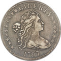 Early Dollars, 1797 $1 10x6 Stars, Large Letters, B-3, BB-71, R.2, XF40 PCGS....