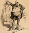 Original Comic Art:Covers, Thomas Nast Harper's Weekly Cover Original Art (Harper & Bros., 1882)....