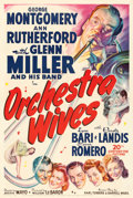 "Movie Posters:Musical, Orchestra Wives (20th Century Fox, 1942). One Sheet (27"" X 41"").. ..."