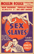 "Movie Posters:Exploitation, Sex Slaves (1930s). Window Card (14"" X 22"").. ..."