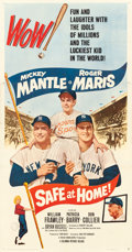 "Movie Posters:Sports, Safe at Home (Columbia, 1962). Three Sheet (41"" X 78.5"").. ..."