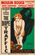 "Movie Posters:Exploitation, The Dope Traffic (Sonney, 1933). Window Card (14"" X 22"") Alternative Title: Narcotic.. ..."