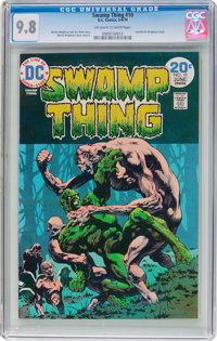 Swamp Thing #10 (DC, 1974) CGC NM/MT 9.8 Off-white to white pages