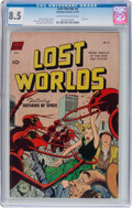 Golden Age (1938-1955):Science Fiction, Lost Worlds #6 (Standard, 1952) CGC VF+ 8.5 Off-white to whitepages....
