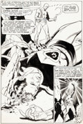 Original Comic Art:Splash Pages, Gil Kane and Wally Wood Captain Action #2 Splash Page 2Original Art (DC, 1969)....
