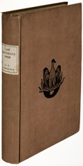 Books:Literature 1900-up, D. H. Lawrence. Lady Chatterley's Lover. Florence: Privately Printed, 1928. First edition, limited to 1,000 copies, ...