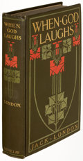 Books:Literature 1900-up, Jack London. When God Laughs and Other Stories. New York: The Macmillan Company, 1911. First edition, association ...