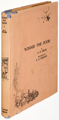 A. A. Milne. Winnie-the-Pooh. With decorations by Ernest H. Shepard. [New York]: E. P. Dutton &