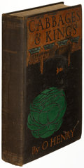 Books:Literature 1900-up, O. Henry [pseudonym of William Sidney Porter]. Cabbages and Kings. New York: McClure, Phillips & Co., 1904. First edition of...