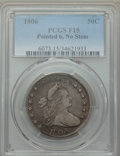 Early Half Dollars, 1806 50C Pointed 6, No Stem, Fine 15 PCGS. PCGS Population:(34/386). ...