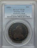 Early Half Dollars, 1806 50C Pointed 6, Stem, O-119, T-27, R.3, VF30 PCGS. PCGSPopulation: (1/2). NGC Census: (1/5). . From The MerrillC...
