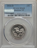 National Parks Quarters, 2016-D 25C Shawnee National Park, Clad, MS68 PCGS. PCGS Population: (1/0). . From The jwb1040 Collect...