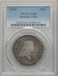 Early Half Dollars, 1795 50C 2 Leaves, O-110a, T-21, R.3, Good 4 PCGS. PCGS Population:(1/6). NGC Census: (0/8). Good 4 . ...