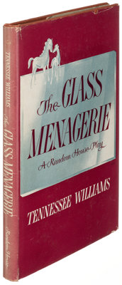 Tennessee Williams. The Glass Menagerie. New York: Random House, [1945]. First edition; sign