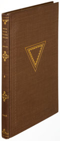 Books:Literature 1900-up, James Joyce. Anna Livia Plurabelle. New York: Crosby Gaige,1928. First edition, limited to 800 copies, this being n...