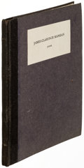 Books:Literature 1900-up, James Joyce. James Clarence Mangan. London: Ulysses Bookshop, [1930]. First edition, limited to forty copies, this o...