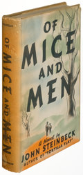 Books:Literature 1900-up, John Steinbeck. Of Mice and Men. New York: Covici-Friede, [1937]. First edition, first state with point between the ...