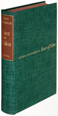 John Steinbeck. East of Eden. New York: Viking Press, 1952. First edition, limited to 1,500 cop