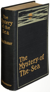 Bram Stoker. The Mystery of the Sea. London: William Heinemann, 1902. First English edition