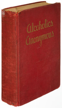 [Bill Wilson]. Alcoholics Anonymous. New York City: Works Publishing Company, 1939. First editi