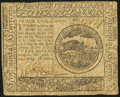 Colonial Notes:Continental Congress Issues, Continental Currency May 10, 1775 $4 Fine.. ...