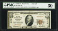 National Bank Notes:New York, Addison, NY - $10 1929 Ty. 1 The First NB Ch. # 5178. ...