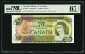 Canadian Currency: , BC-50a $20 1969 with Low Serial Number EA0000124. ...