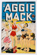 Golden Age (1938-1955):Horror, Aggie Mack #8 (Four Star, 1949) Condition: FN....