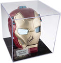 Autographs:Others, Stan Lee Signed Iron Man Mask. . ...